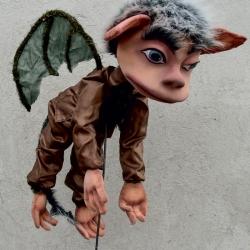 flying monkey-puppet